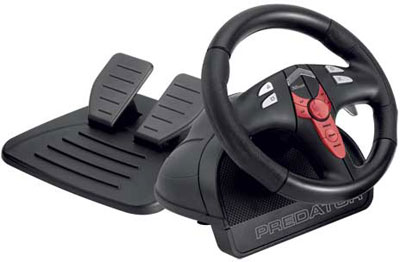 Руль Trust Vibration Feedback Steering Wheel PC-PS2-PS3 GM-3400