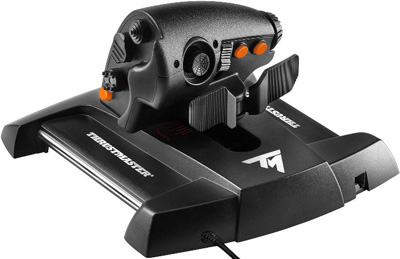РУД Thrustmaster TWCS Throttle (вид сзади)